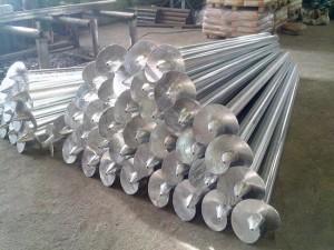 Сваи из нержавеющей стали